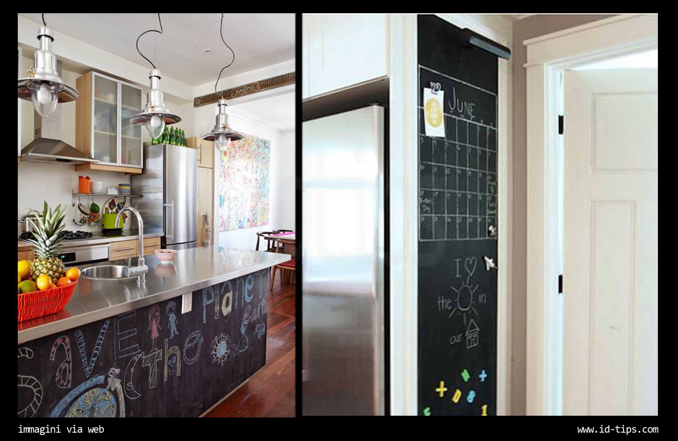 Parete Di Lavagna In Cucina : Lavagna in cucina lavagna menu cucina with lavagna in cucina
