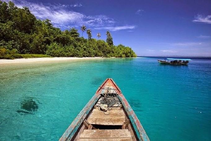 Pantai Pulau Nias Yang Eksotis
