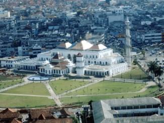 Masjid Agung Sultan Mahmud Badaruddin Palembang Yang Megah Sekali