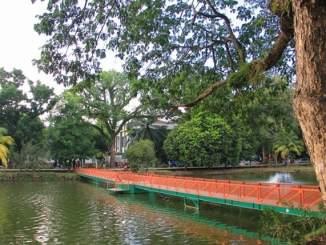 Taman Kambang Iwak di Palembang