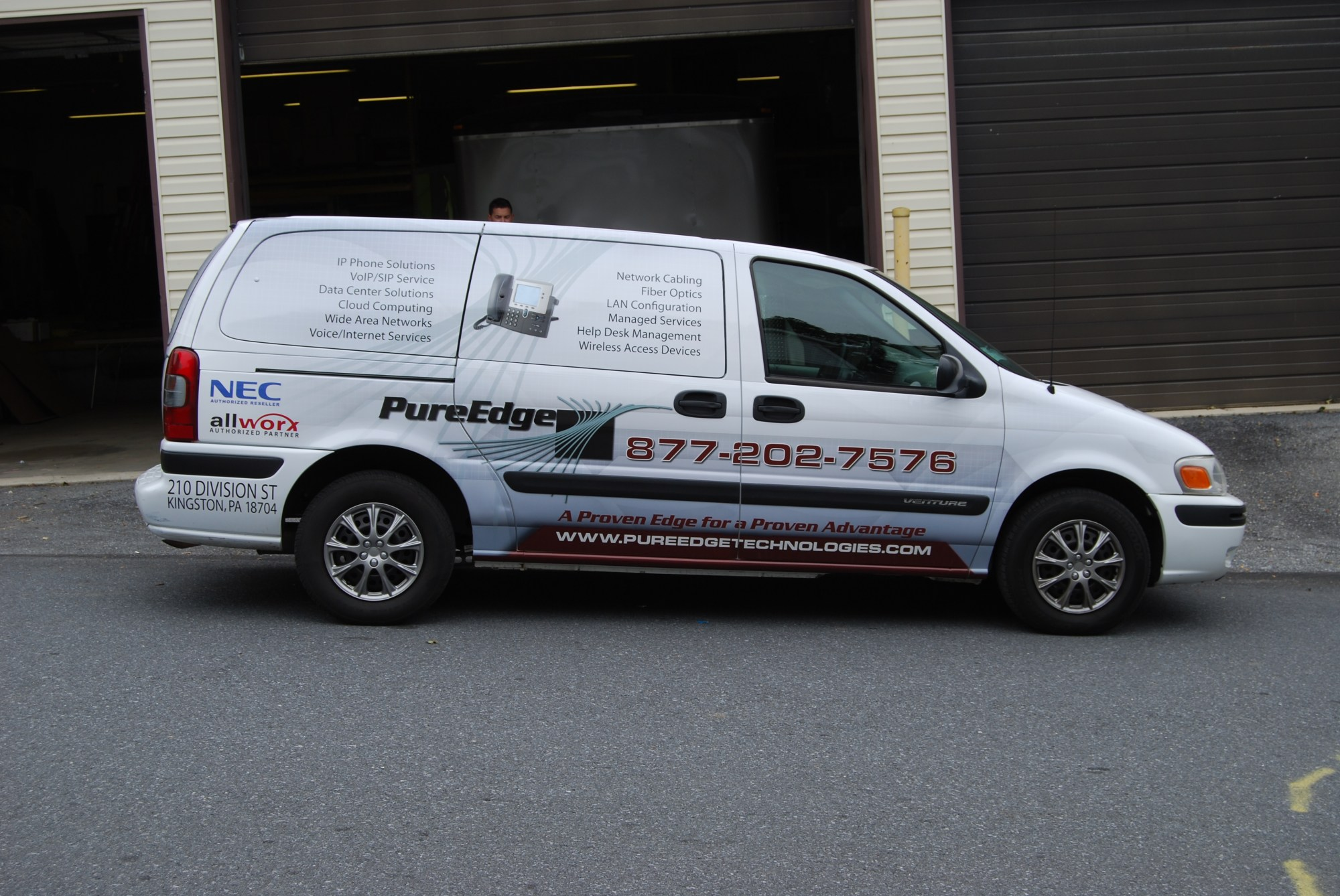 hight resolution of chevy venture vehicle wrap