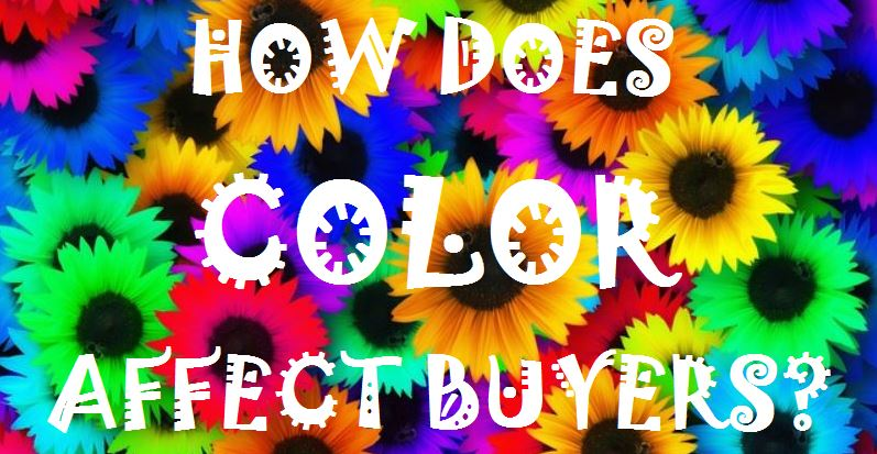 How Color Affects Buyers and your brands impact