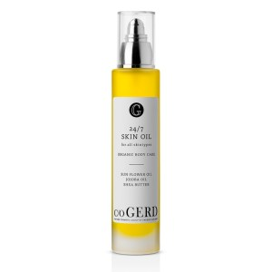 c/o gerd skin oil