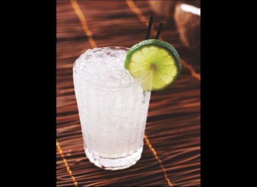 Barbadian Gin Punch Swizzle