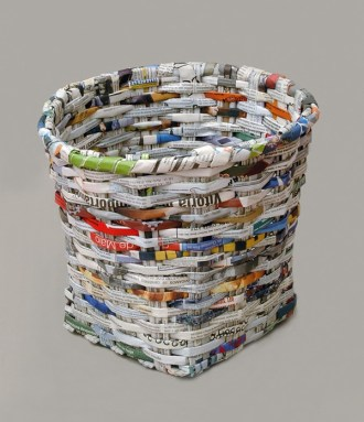 Make your trash into a trash can