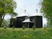 Cerkiew w Liskach wiosną...