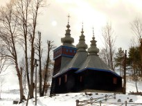 Cerkiew w Roztoce Wielkiej, 2012r.
