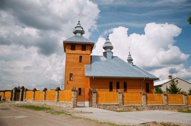Regietów (Regetów) - nowa cerkiew z 2012r., fot.2014