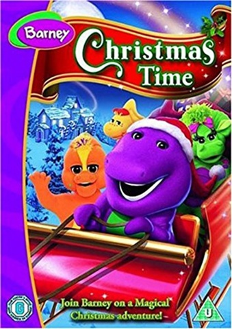 barney s christmas time