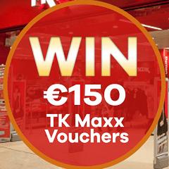 Win TK Maxx Vouchers