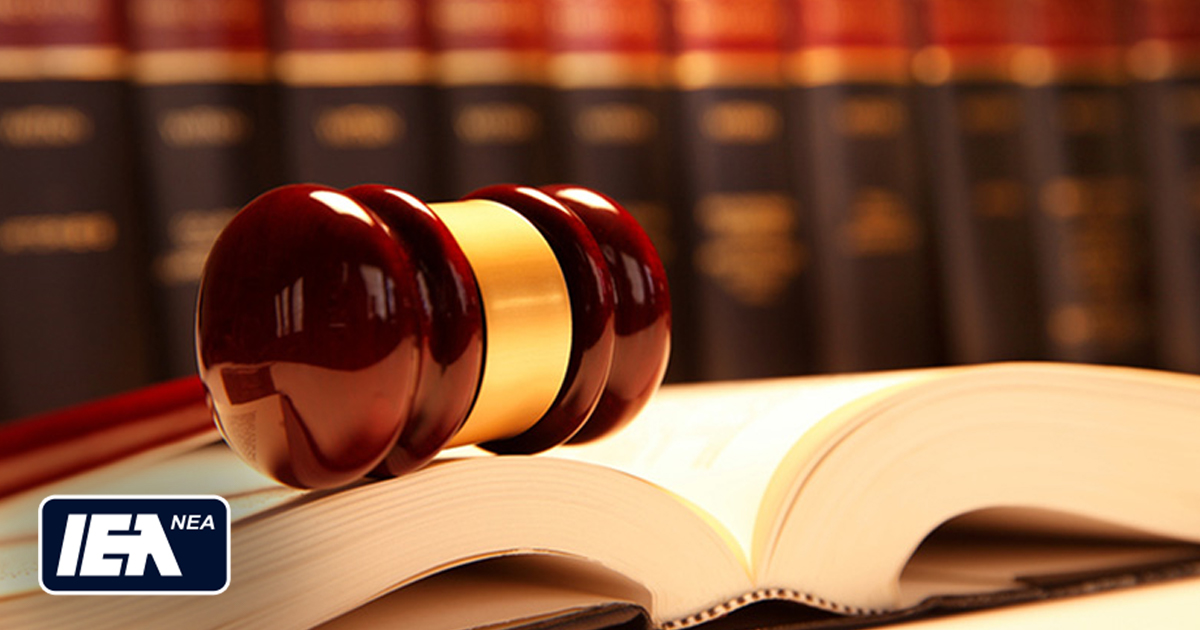 IEA NEA Guide to legal rights and responsibilities