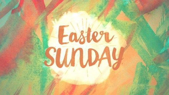 Happy Easter Sunday Wallpaper