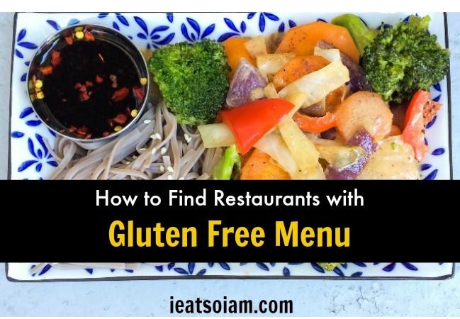 How to Find Restaurants with Gluten Free Menu