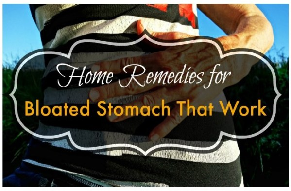 Home Remedies for Bloated Stomach That Work