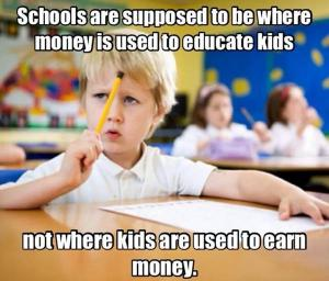 money from kids