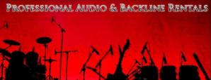 Professional Audio and Backline Equipment Rentals