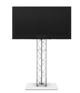 LCD Flat Screen Display On Truss Stand