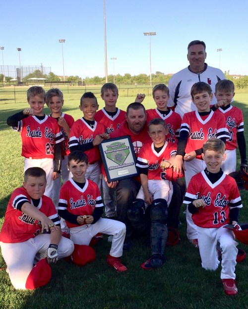 IE Baseball 9u TCS Champs