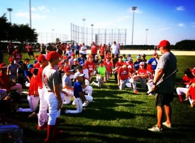 13u Baseball Tryout Inside Edge Baseball Academy