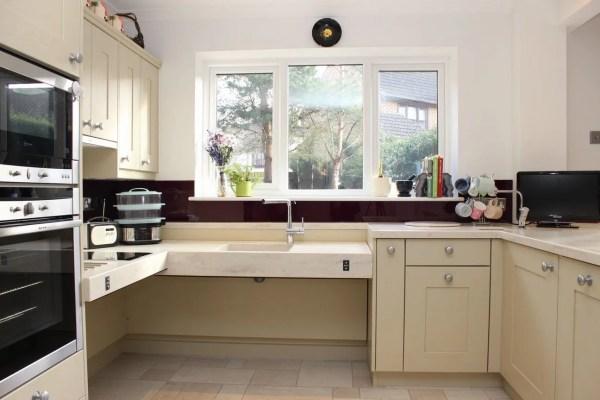 Wheelchair Accessible Kitchen Design & Cabinets
