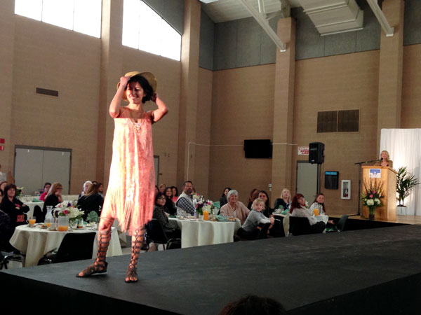 iecn photo/yazmin alvarez Models took to the runway May 9 for Angels' Closet Charities fashion show at Redlands East Valley High School. The organization provides clothing and accessories to students in need.