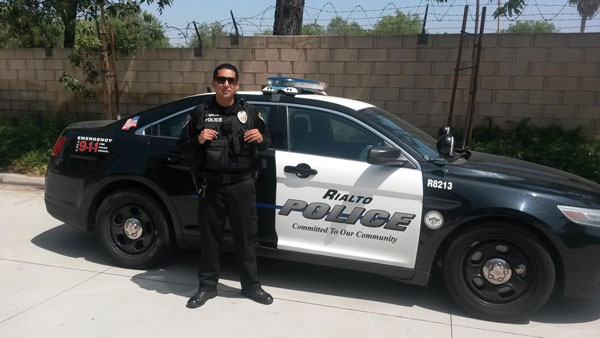 Rialto police officer thanked for selfless act - Inland Empire ...