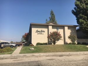 "Photo/Anthony Victoria: The Loma Vista Apartments, at 2575 Steele Road, is one of 62 complexes that is designated as ""Crime Free"", according to the San Bernardino Crime Free Multi housing web page."