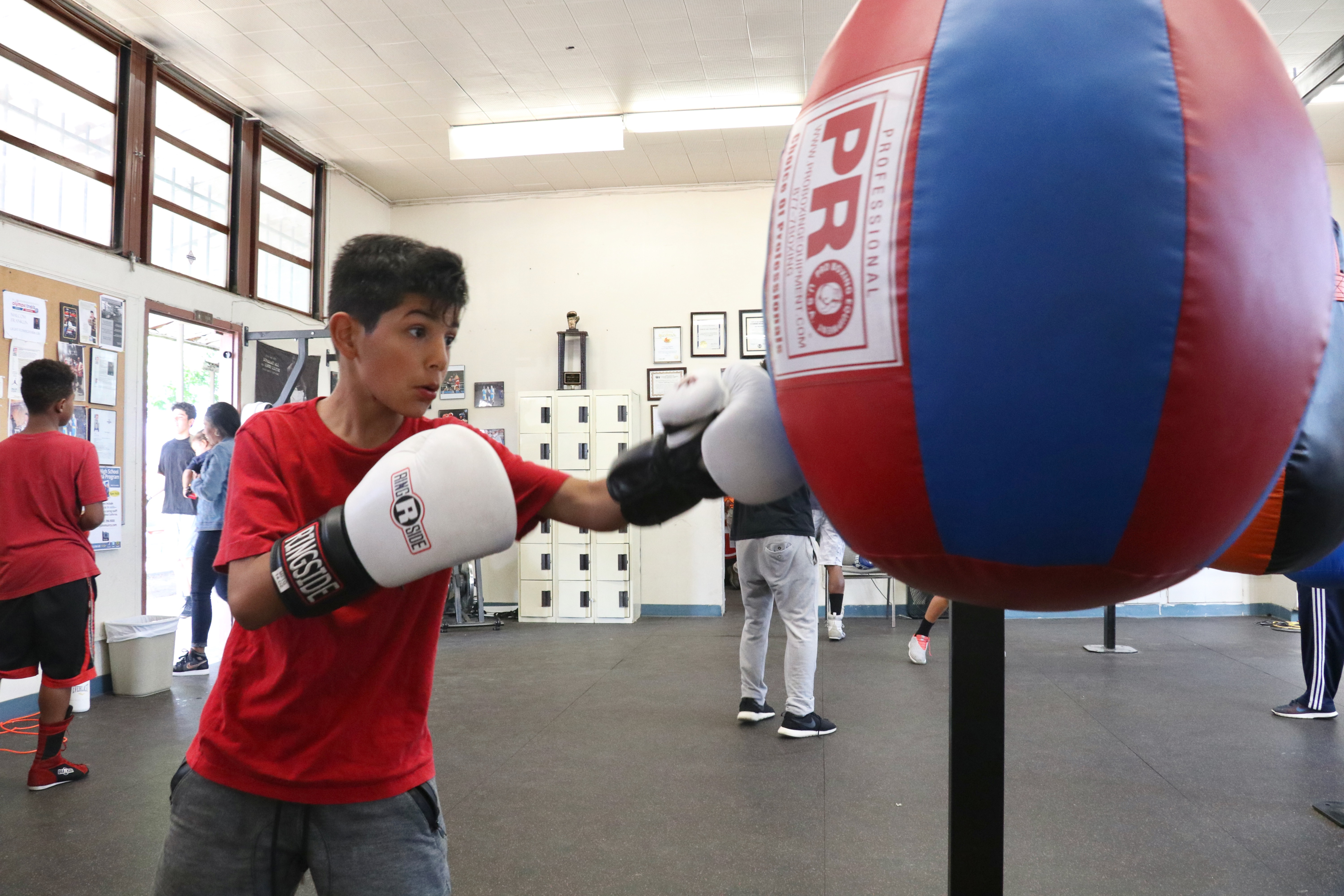 Boxing gym giving youth a fighting chance inland empire
