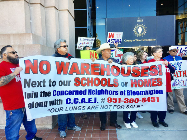 CCAEJ protest