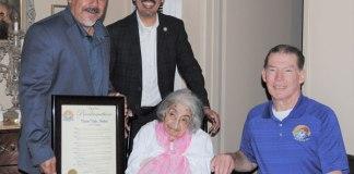 Centenarian-mayor