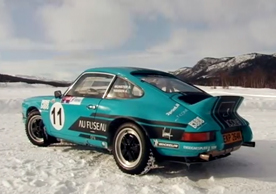 DR Porsche 911 Ice Driving