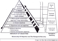 How Hierarchy of Objectives in Organizations Works