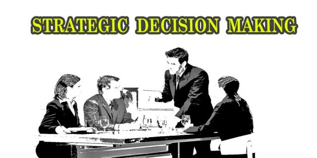 Strategies Help Managers to Make Decisions