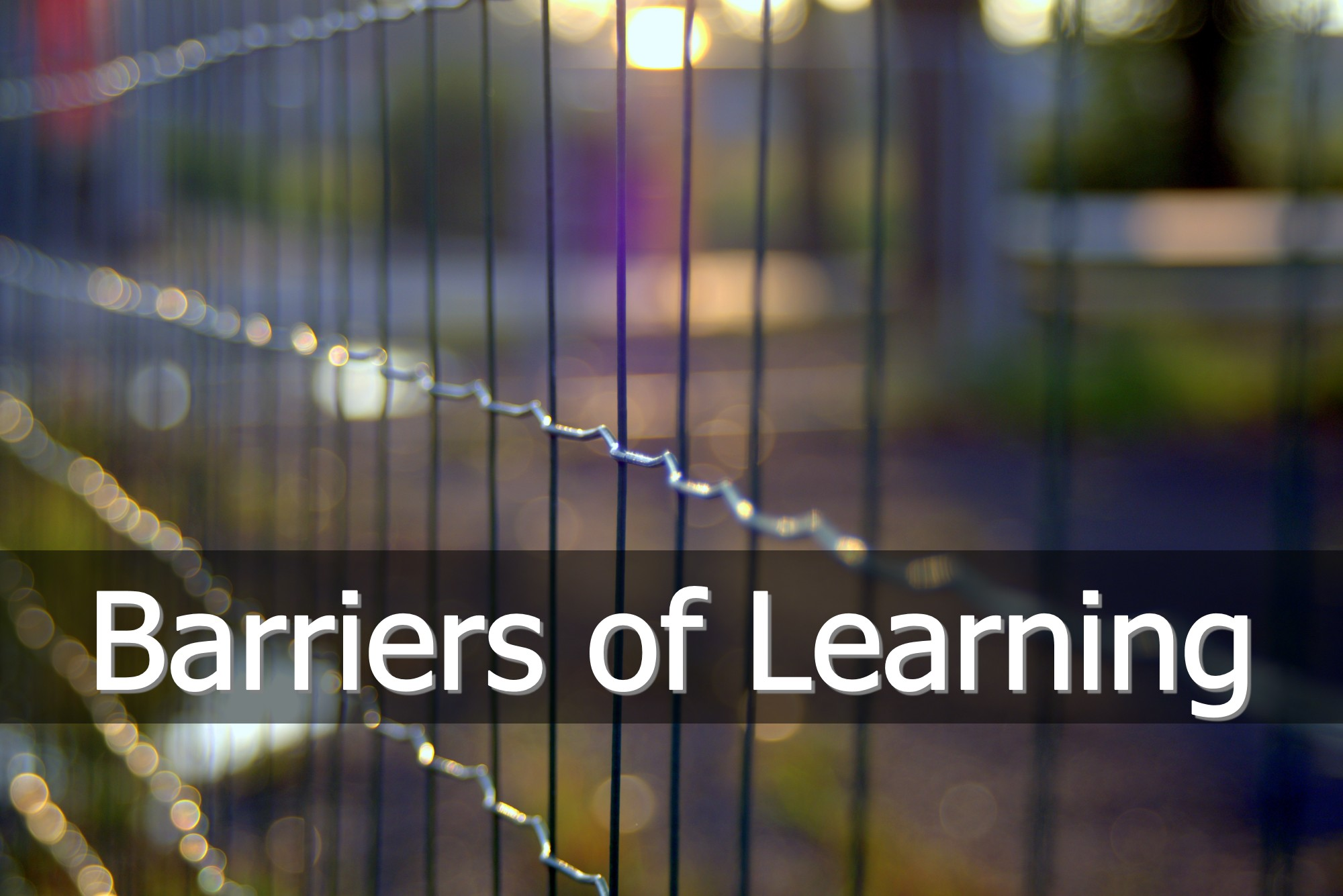 barriers to teaching and learning