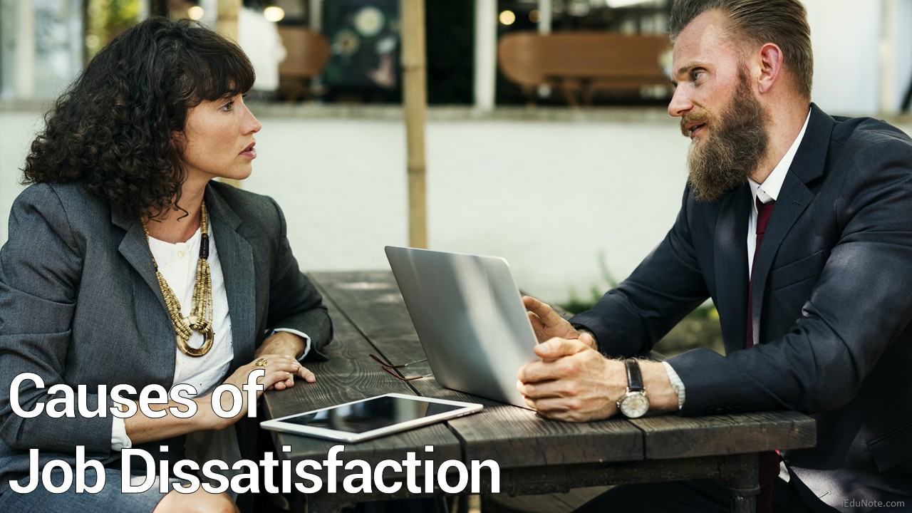 causes of employee dissatisfaction