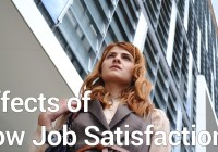 Effects of Low Job Satisfaction