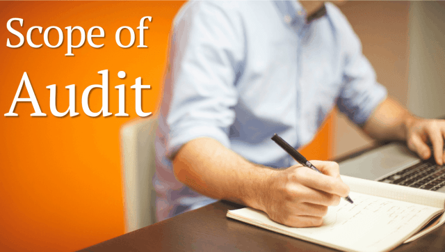 Scope of Audit