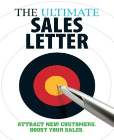 Sales Letter that Sales, Writing Effective Sales Letter