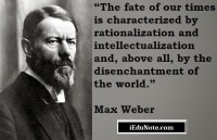 principles of bureaucratic management approach max weber
