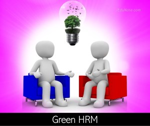 What is Green HRM?