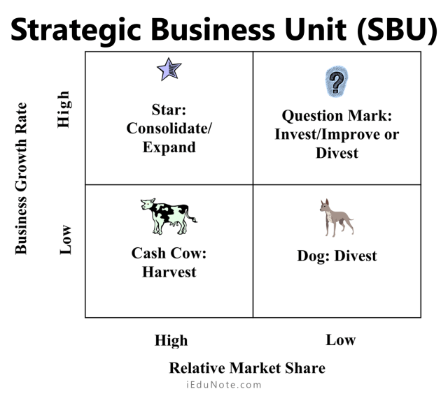 Strategic Business Unit (SBU) in BCG Matrix
