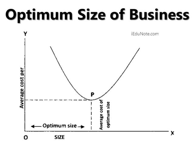 Optimum Size of Business