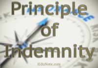 Principle of Indemnity in Insurance
