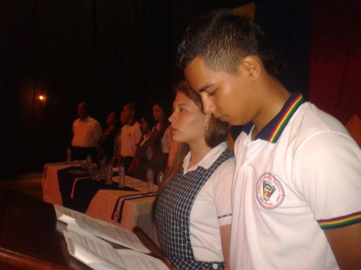 Posesión De Nuestros Lideres Estudiantiles Iefangel Org