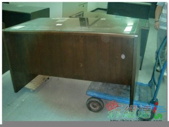 辦公家具-二手辦公木桌