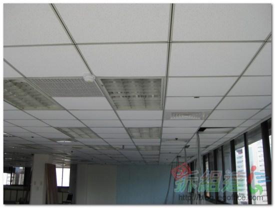 辦公室裝修-輕鋼架天花板