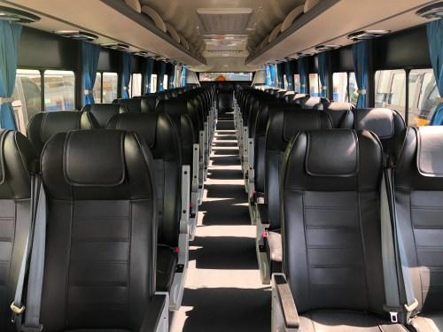 電気バス 内装