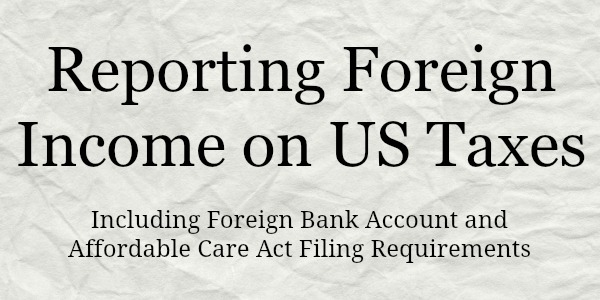 Foreign Earned Income Tax Worksheet. Worksheets