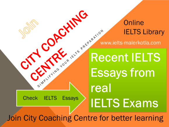 recent ielts essays