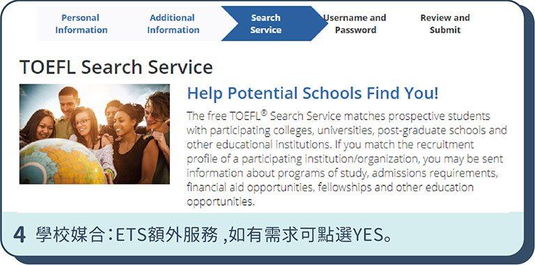 托福補習班 | TOEFL報名步驟4